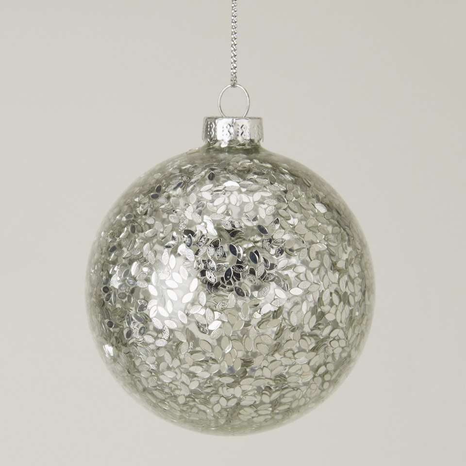 gisela-graham-glass-ball-with-silver-confetti-filling-clear