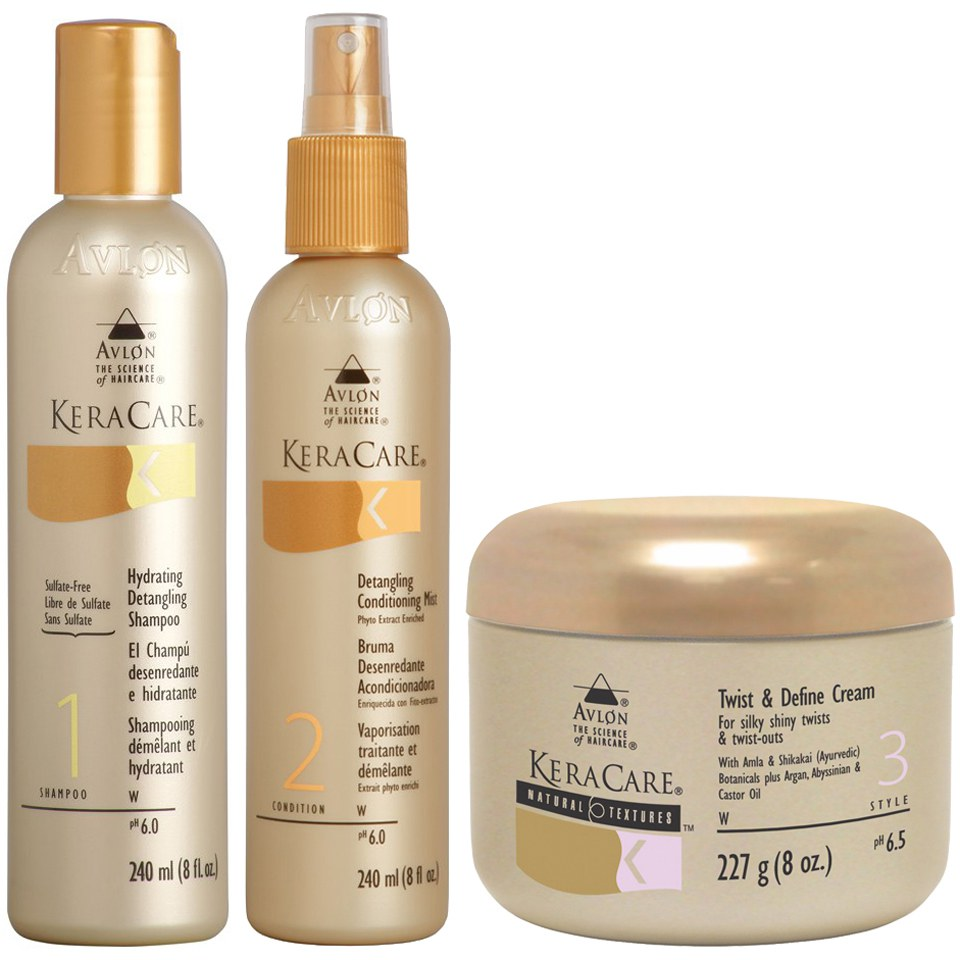 Keracare Detangling Shampoo And Conditioner Duo With