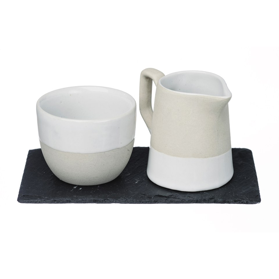 just-slate-stoneware-milk-sugar-set