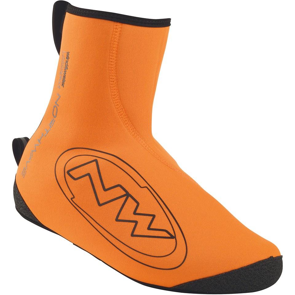 northwave-sonic-shoe-cover-orange-black-xxl