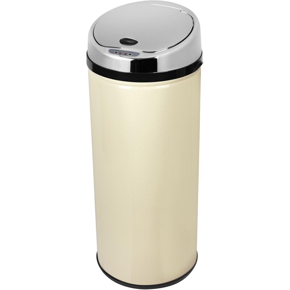 morphy-richards-971513mo-42l-round-sensor-bin-cream