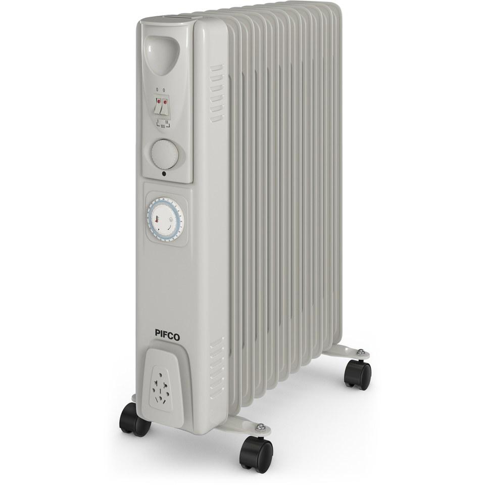 pifco-p43005yt-oil-filled-radiator-white-2500w