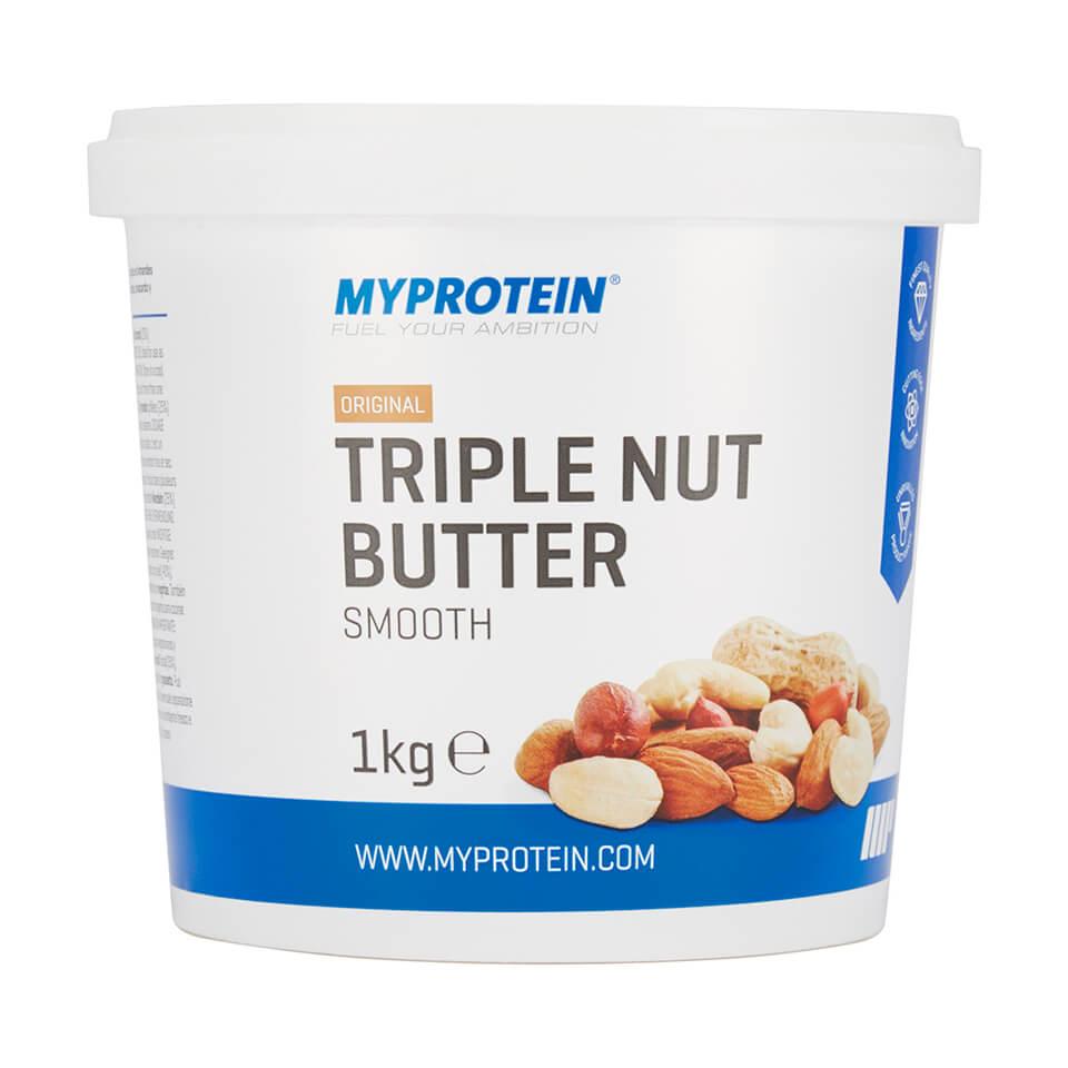 Foto Nut Butter, Triple Nut, Smooth - 1kg Myprotein