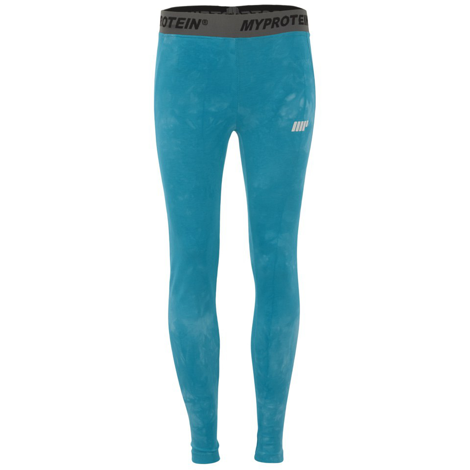 Foto Myprotein Women's Tie Dye Core Leggings - Blue - UK 6
