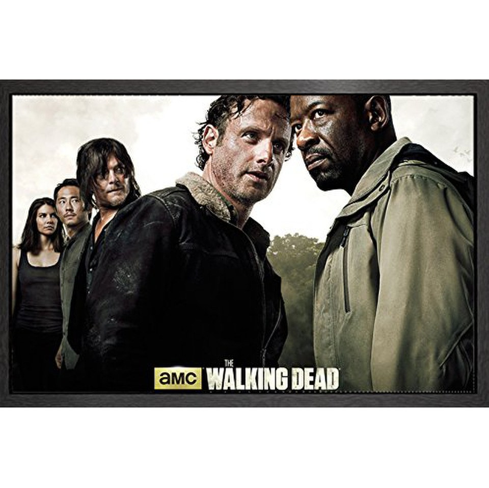the-walking-dead-season-6-framed-maxi-poster
