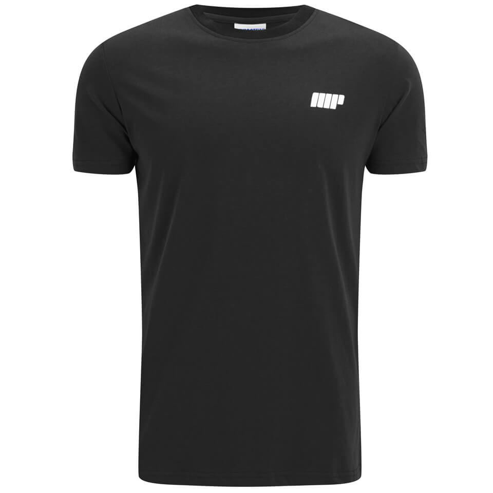 Image of Myprotein Men's Longline Short Sleeve T-Shirt - Black - L - Black