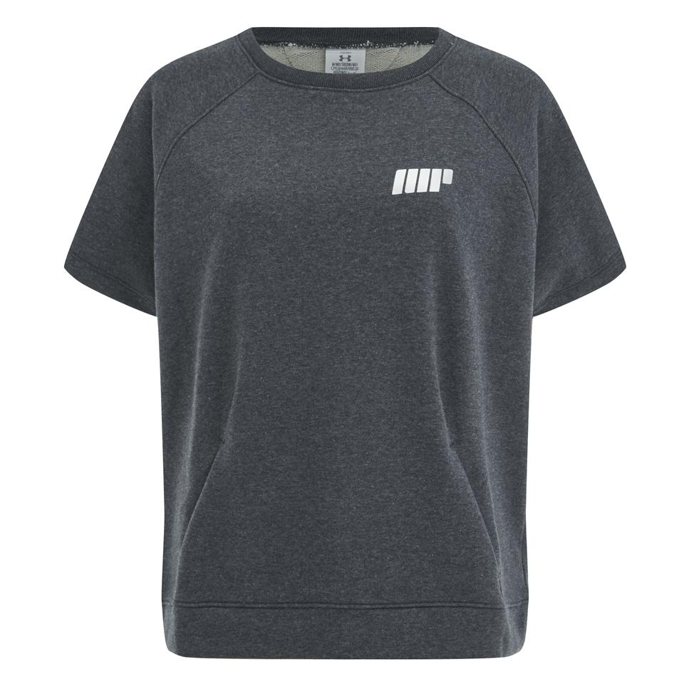 under-armour-women-studio-terry-short-sleeve-sweatshirt-grey-8