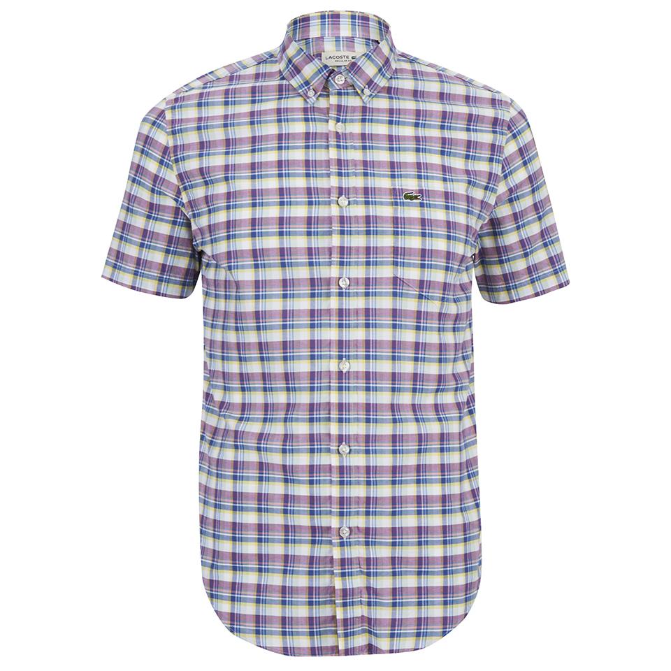 lacoste-men-short-sleeve-checked-shirt-iodine-40cmm