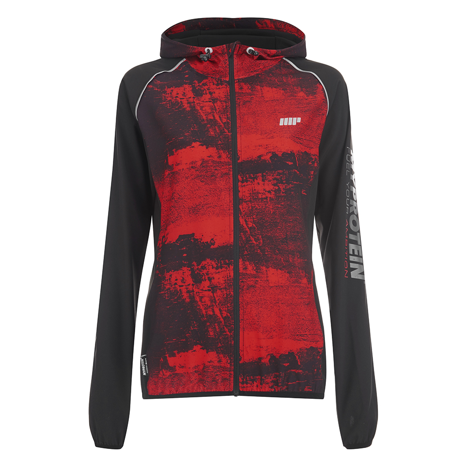 Foto Myprotein Women's Running Jacket - Red Concrete - UK 8