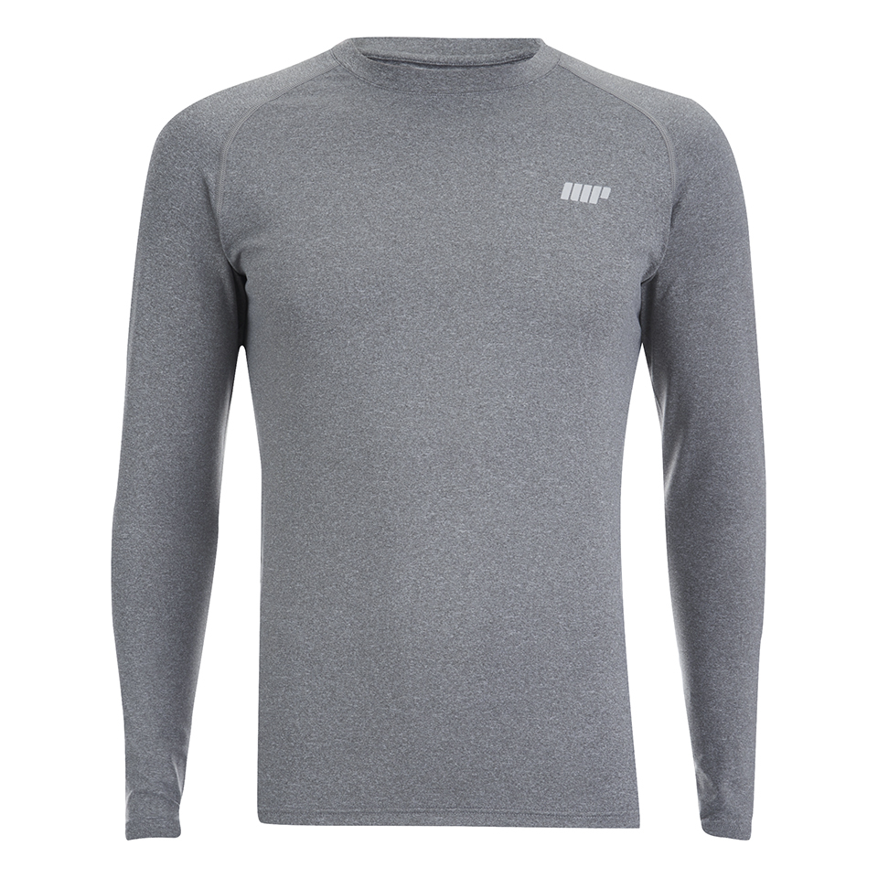 Foto Myprotein Men's Reflective Long Sleeve Top - Grey - XL