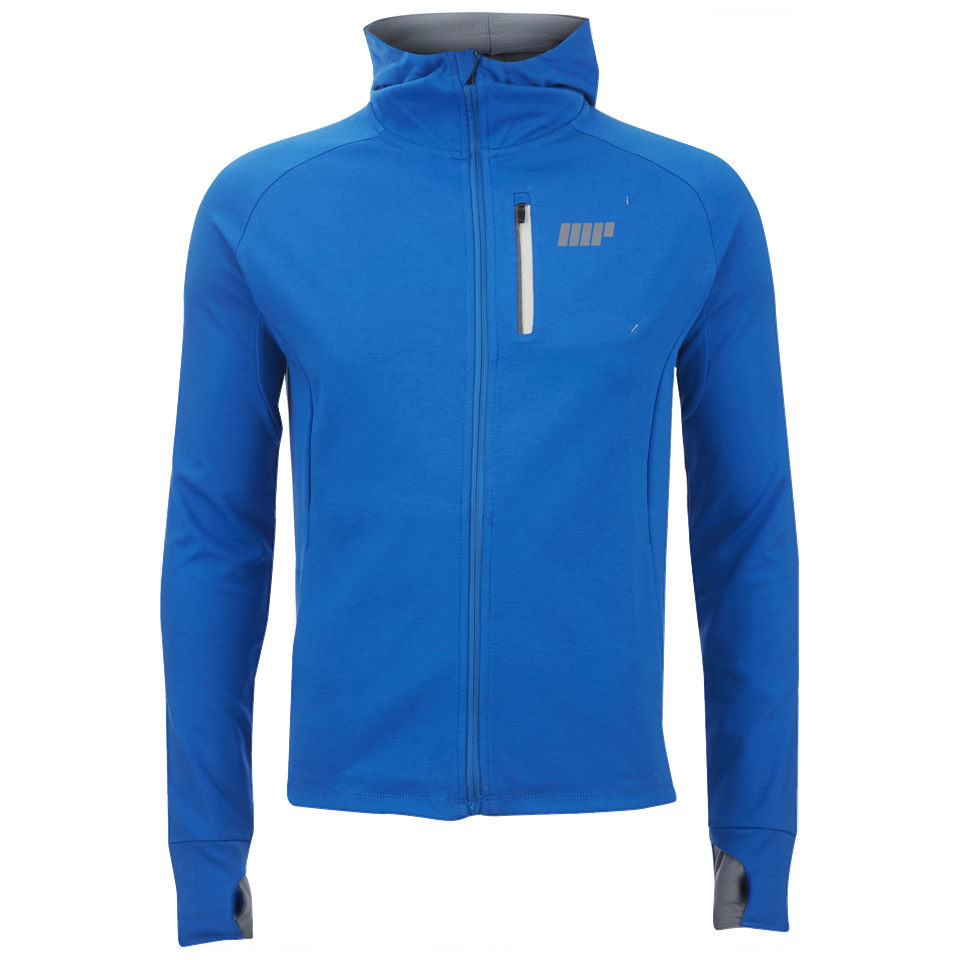 Foto Myprotein Men's Premium Training Zip Hoodie - Blue - S