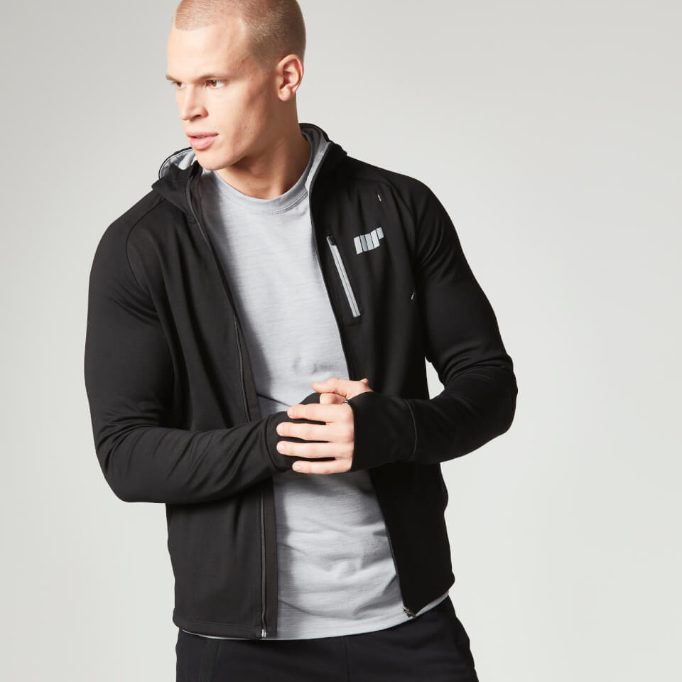 Foto Myprotein Men's Premium Training Zip Hoodie - Black - M