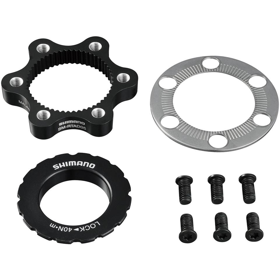 shimano-sm-rtad05-6-bolt-rotor-to-centre-lock-hub-adapter