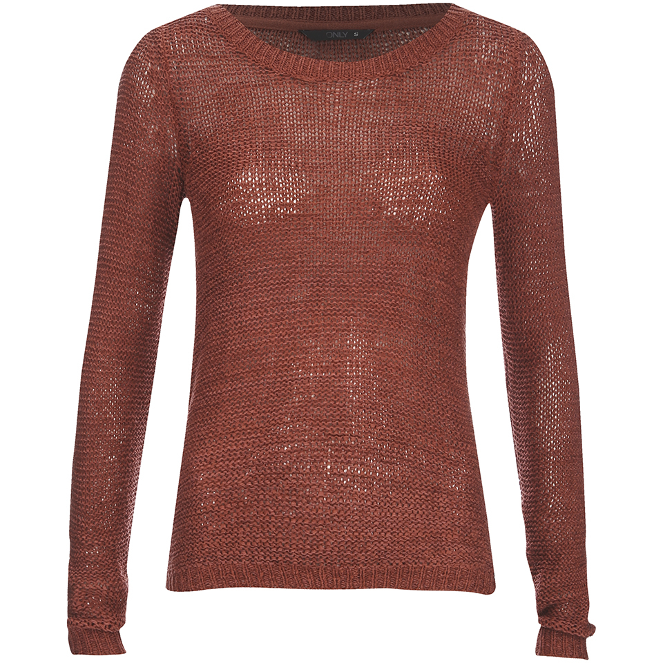 only-women-geena-pullover-knit-jumper-marsala-xs