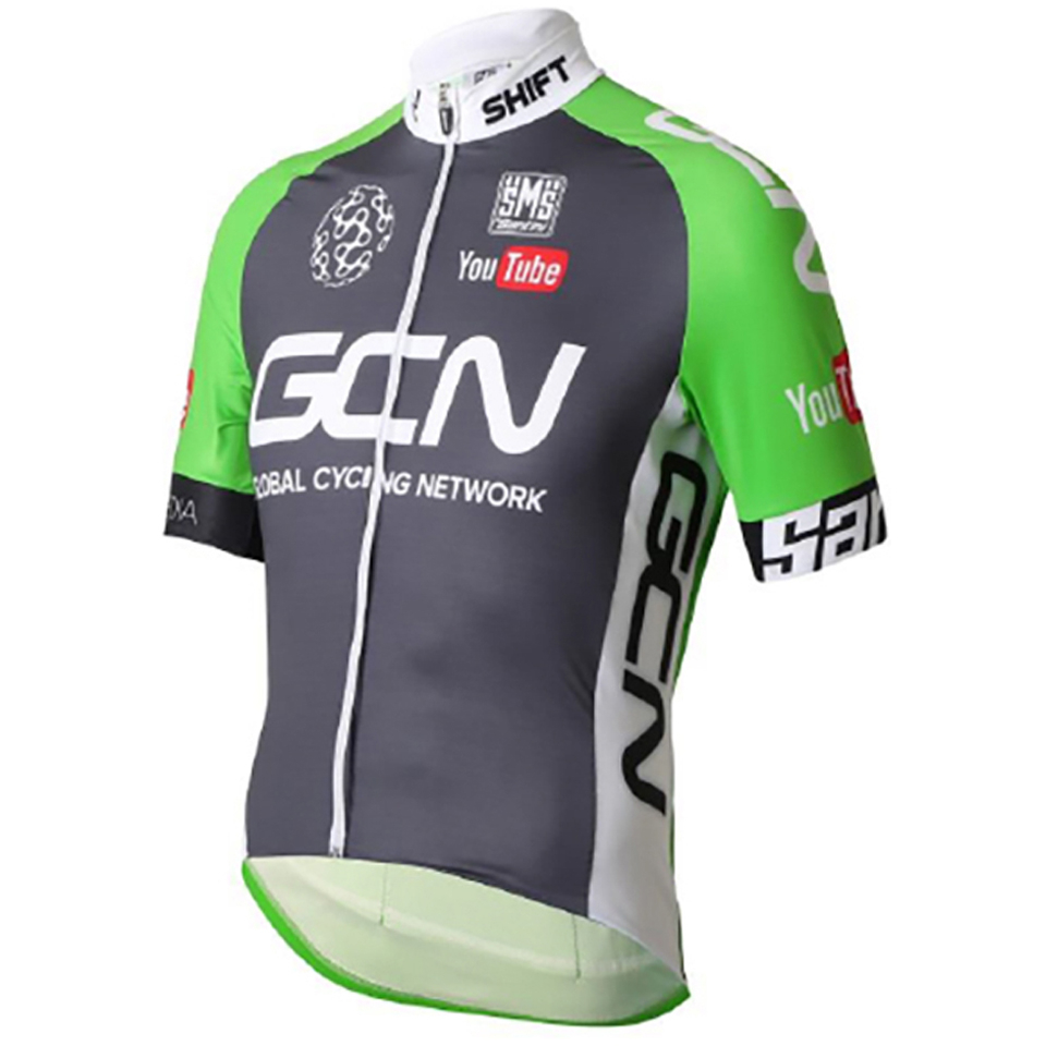 santini-gcn-classic-short-sleeve-jersey-2016-greygreen-s