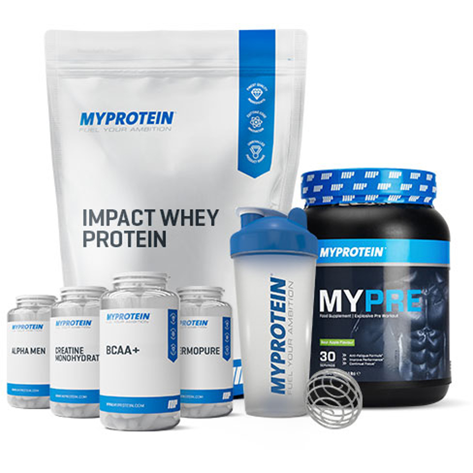 Foto Men's Transform Bundle - Banana Myprotein
