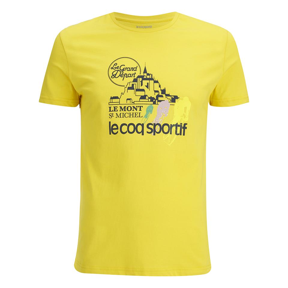 le-coq-sportif-tour-de-france-n1-t-shirt-yellow-m