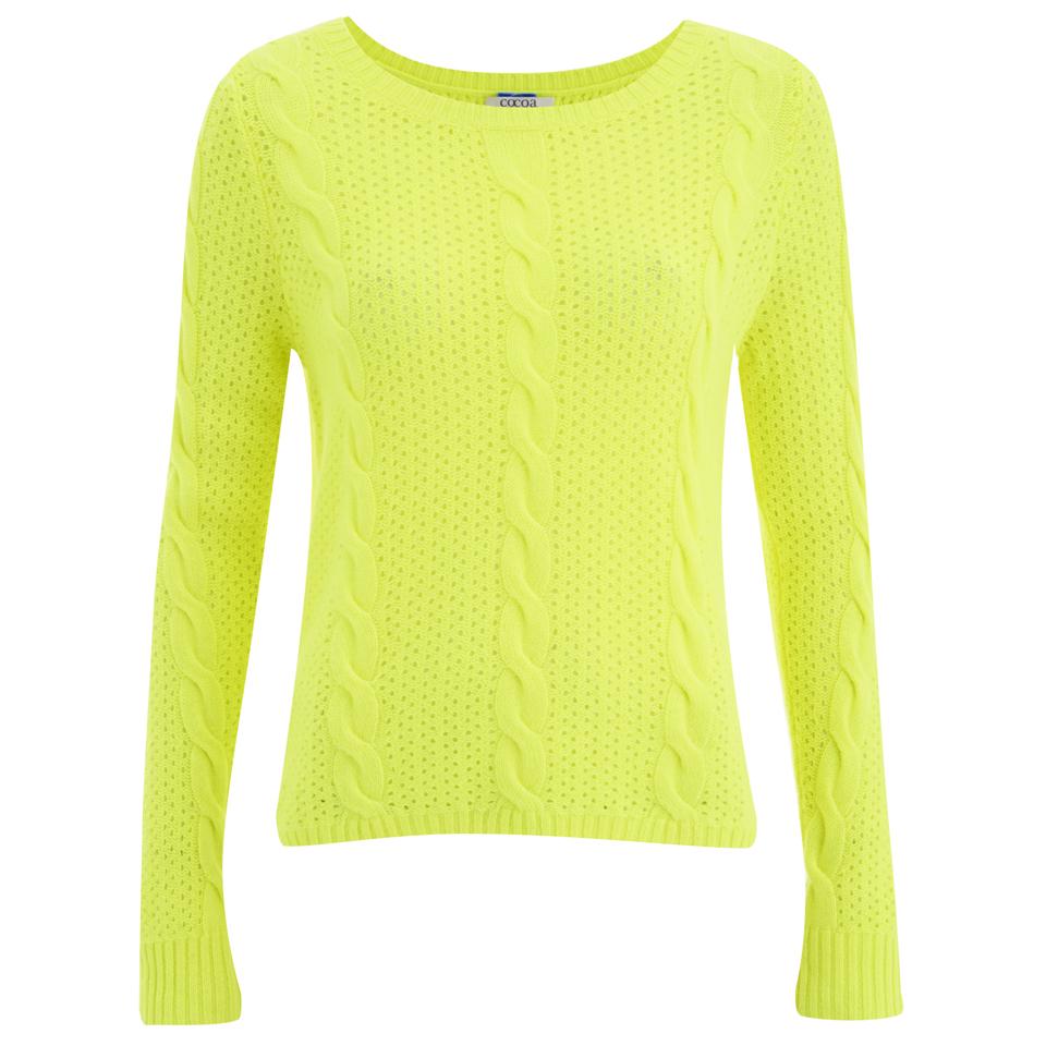 cocoa-cashmere-women-neon-jumper-yellow-m-12
