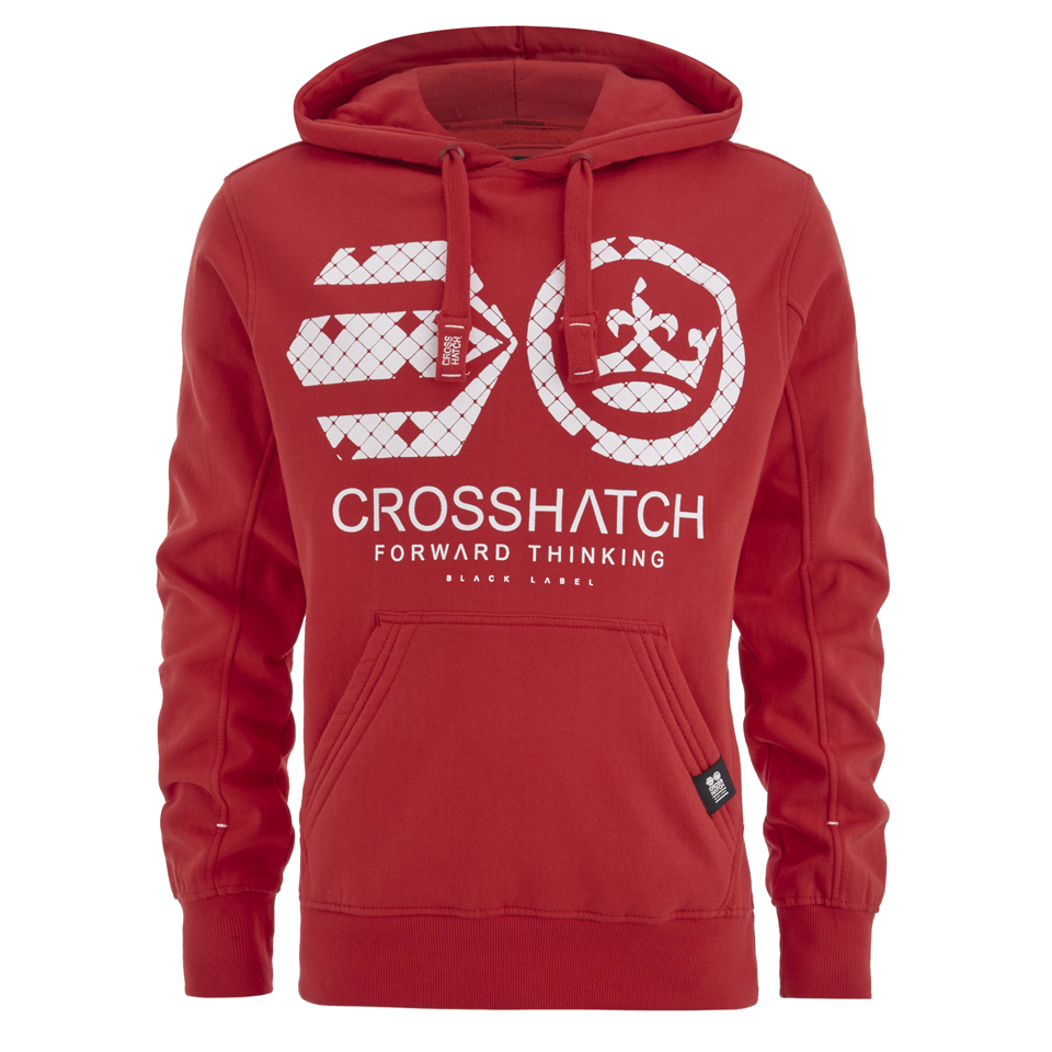 crosshatch-men-arowana-hoody-high-red-s