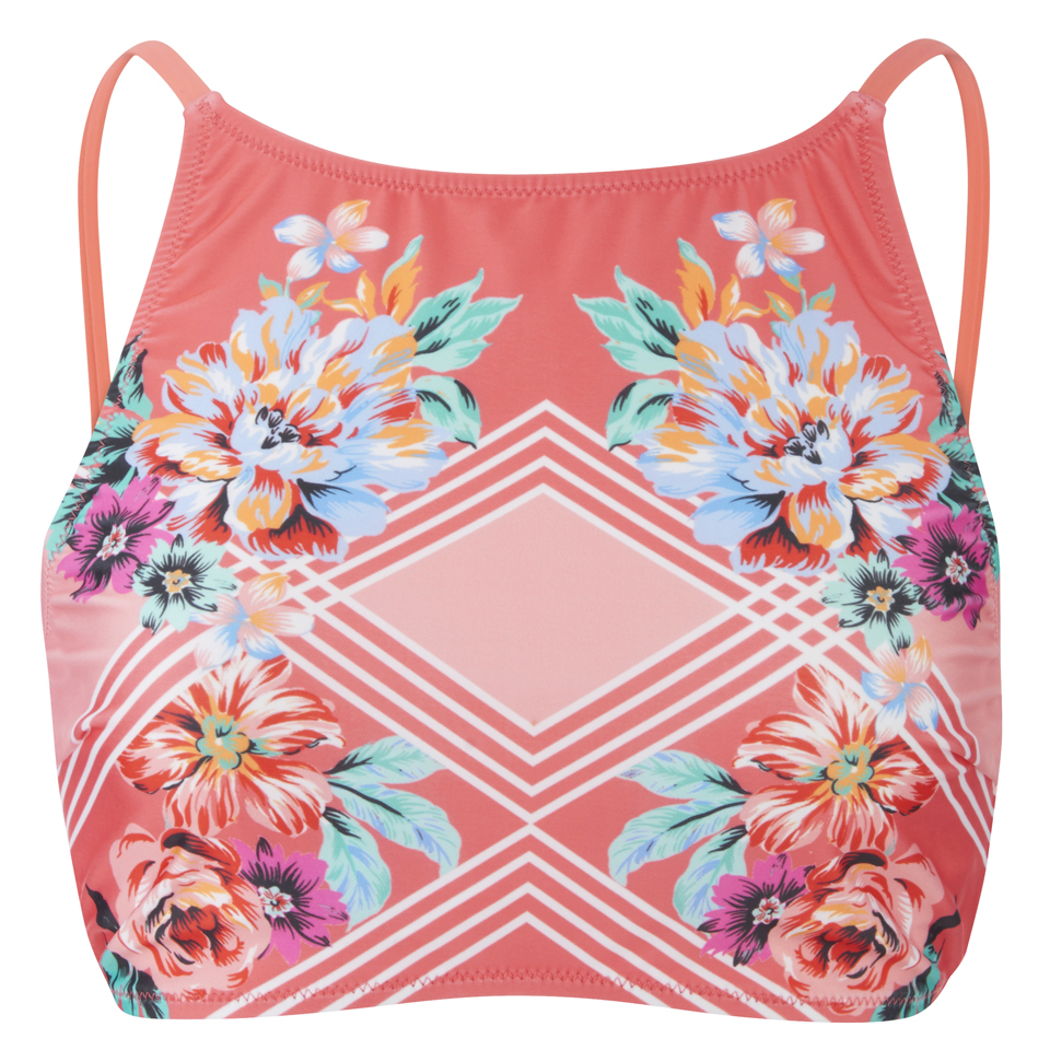 minkpink-women-bloomin-beach-laced-back-bikini-top-pink-xs
