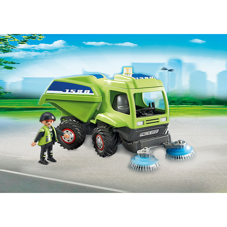 playmobil-city-action-street-cleaner-6112