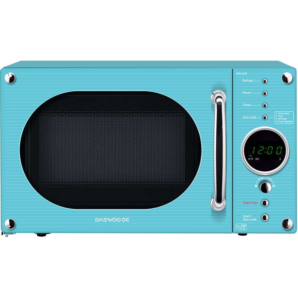 daewoo-kor6n9rt-touch-control-microwave-blue