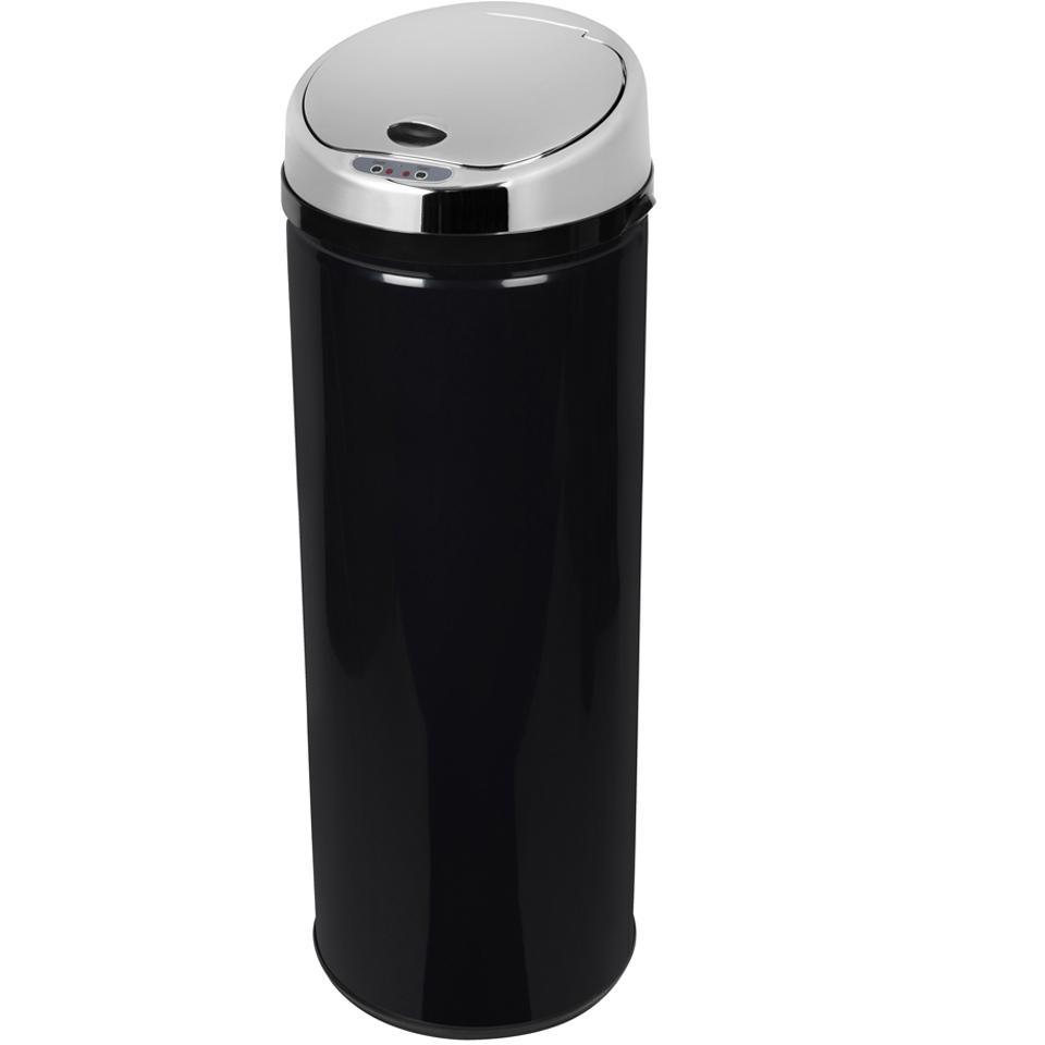 morphy-richards-971522mo-round-sensor-bin-black-50l