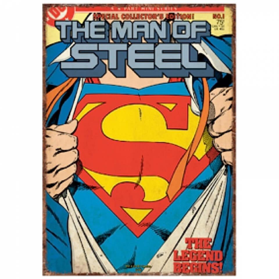 dc-comics-superman-super-suit-large-tin-sign
