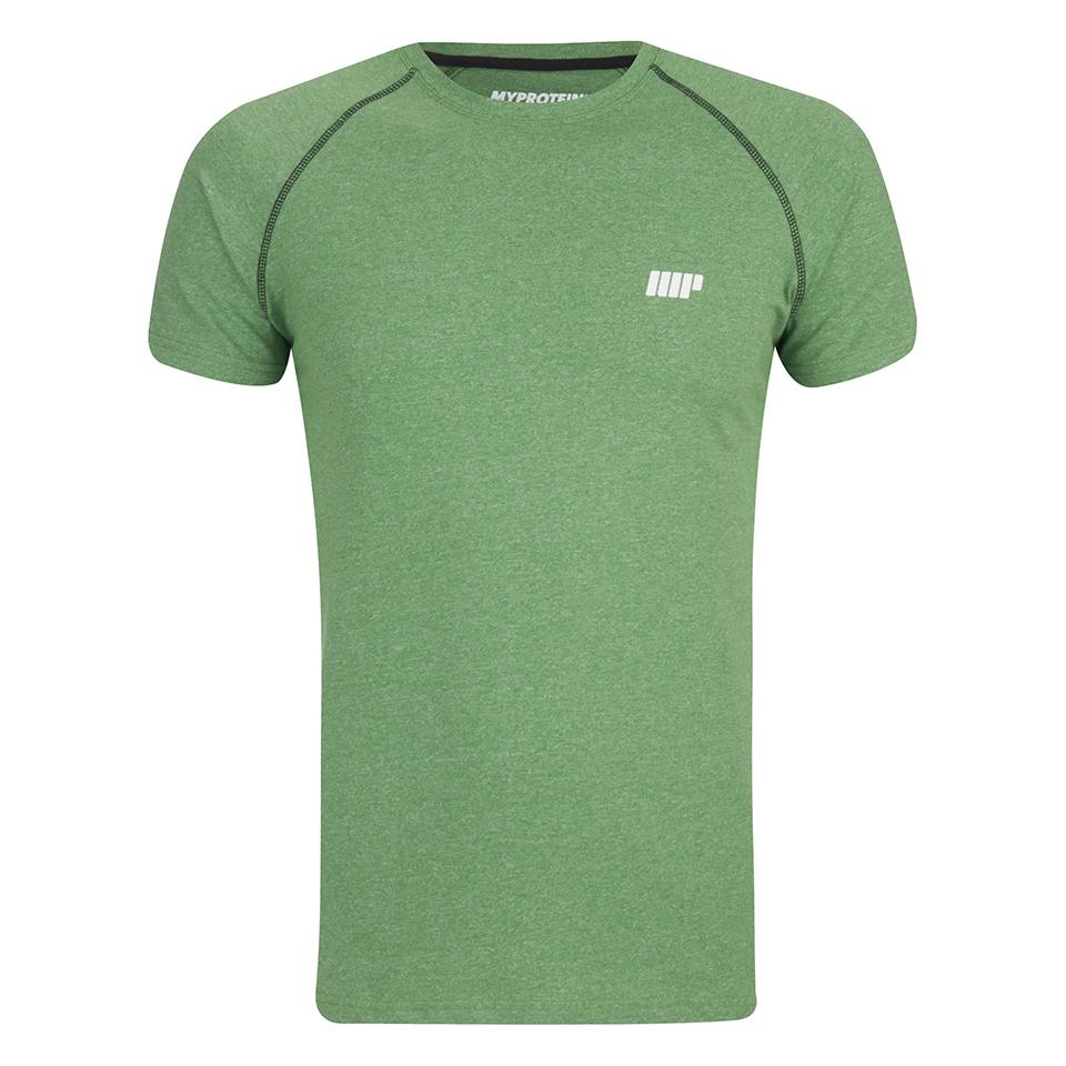 Foto Myprotein Men's Performance Raglan Sleeve T-Shirt - Green - XL