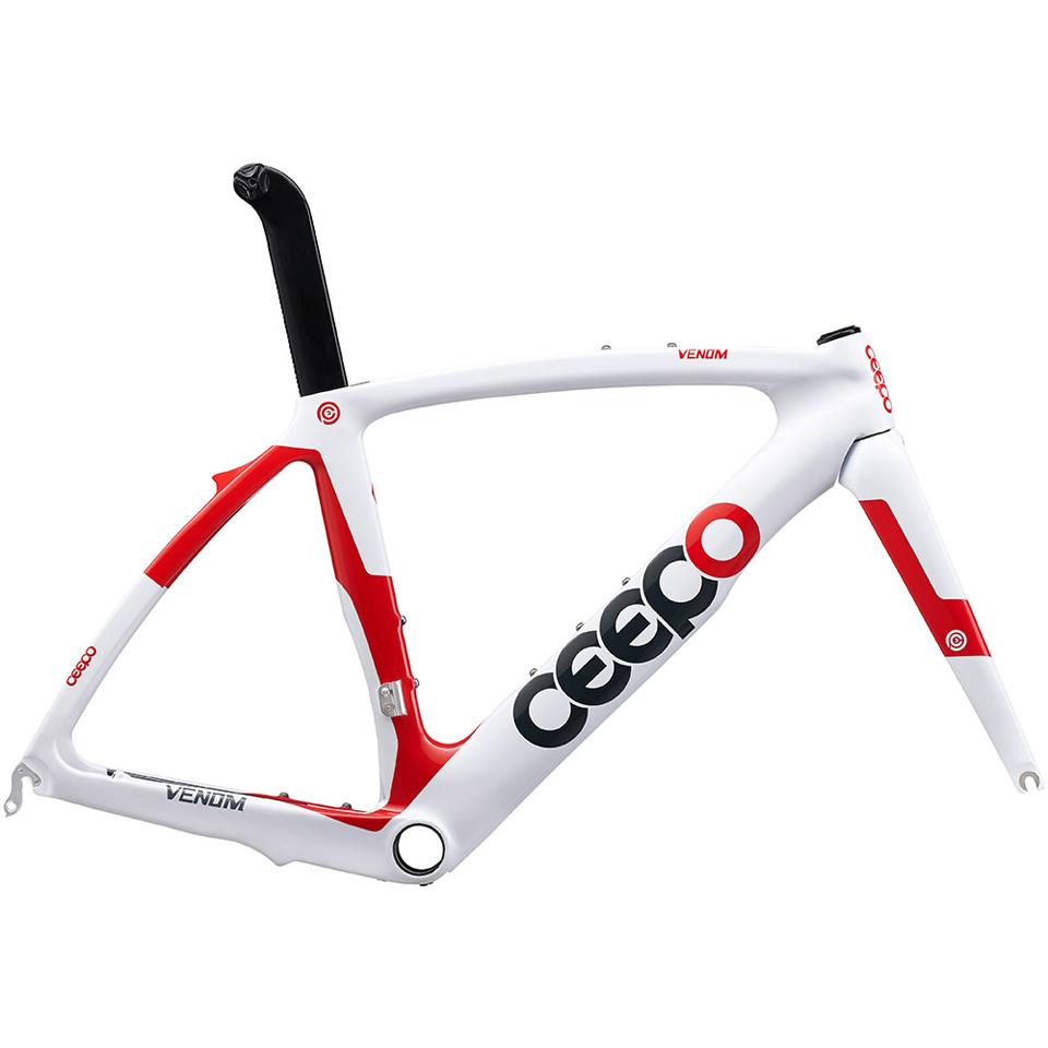 ceepo-venom-time-trial-frameset-whitered-s50cm