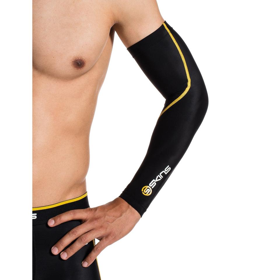 skins-essentials-sleeves-black-yellow-xs
