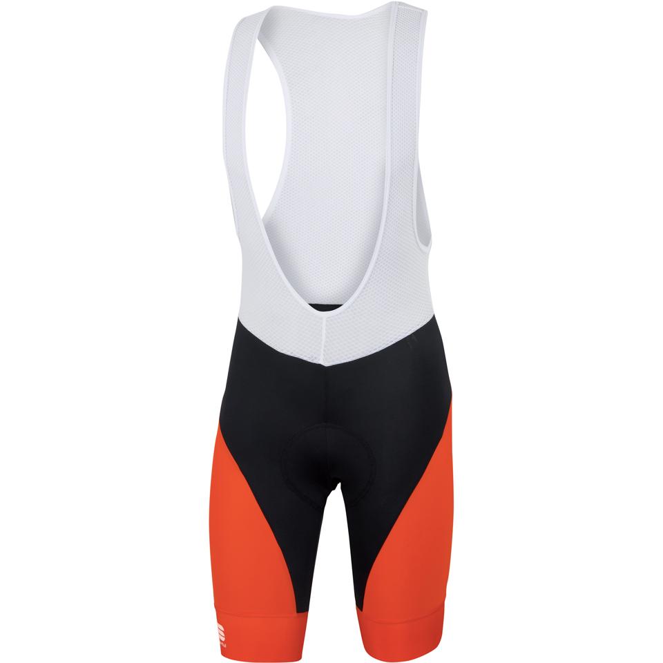 sportful-fiandre-light-no-rain-bib-shorts-black-red-m