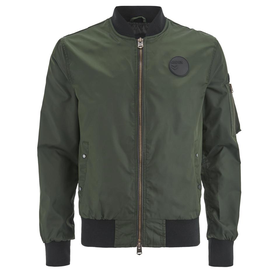 4bidden-men-radar-bomber-jacket-khaki-s