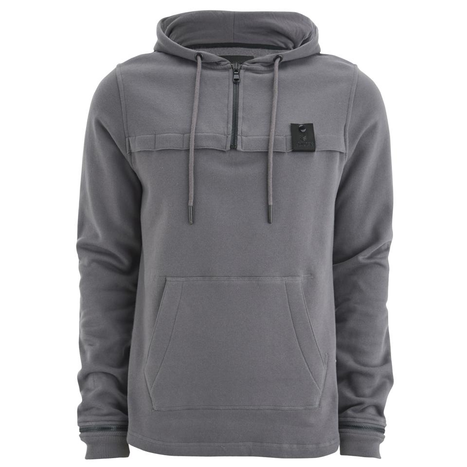 4bidden-men-sector-12-zip-longline-hoody-grey-s