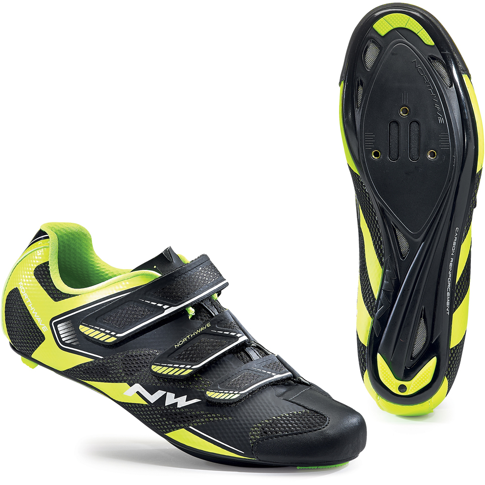 northwave-men-sonic-2-cycling-shoes-blackyellow-42
