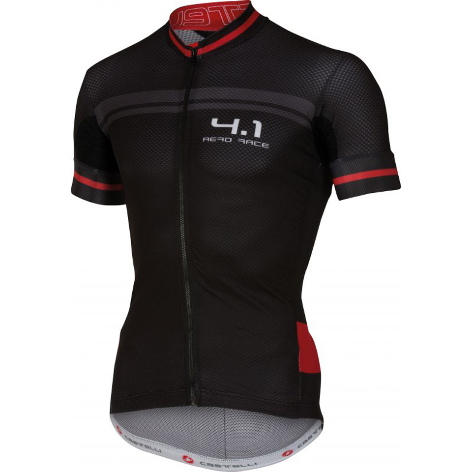 castelli-free-41-short-sleeve-jersey-blackred-l