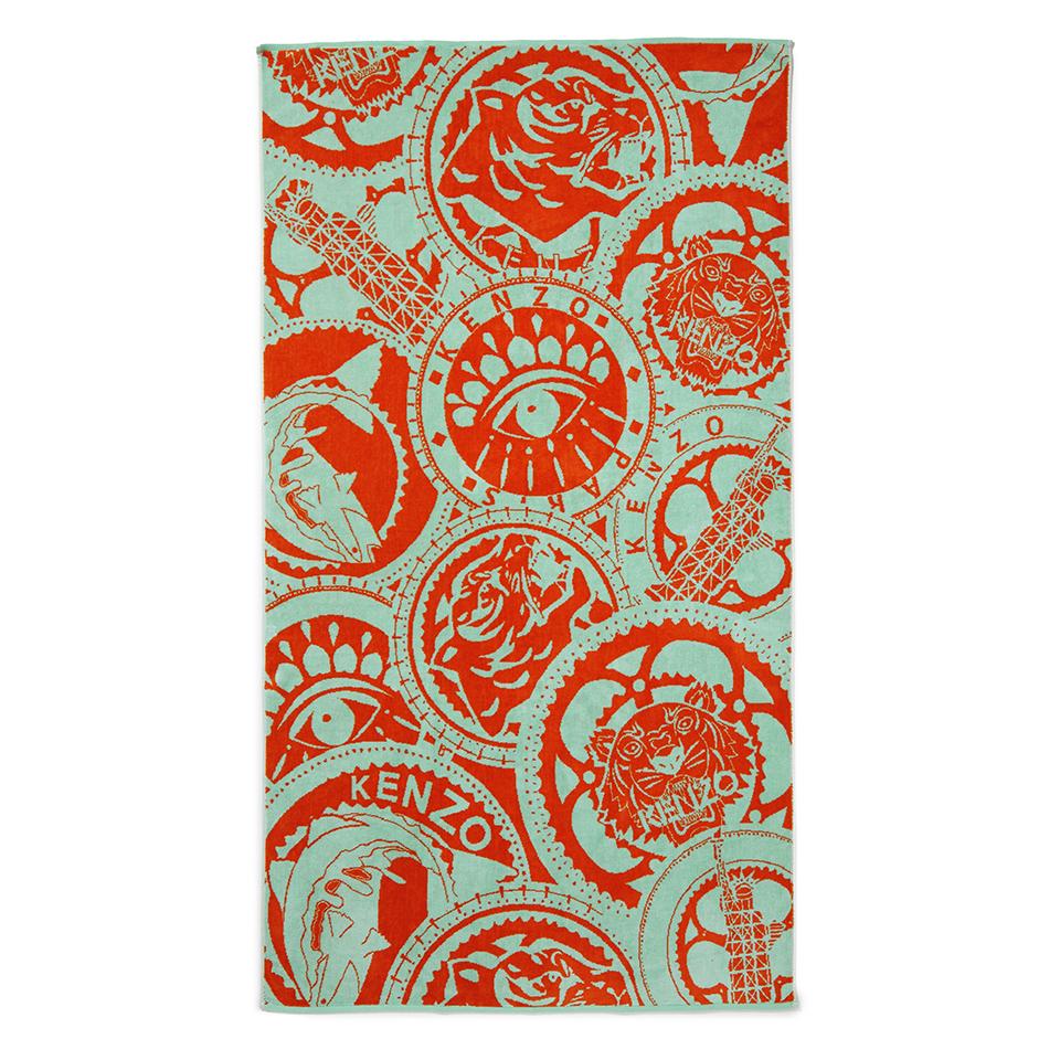 kenzo-medaille-beach-towel-mint
