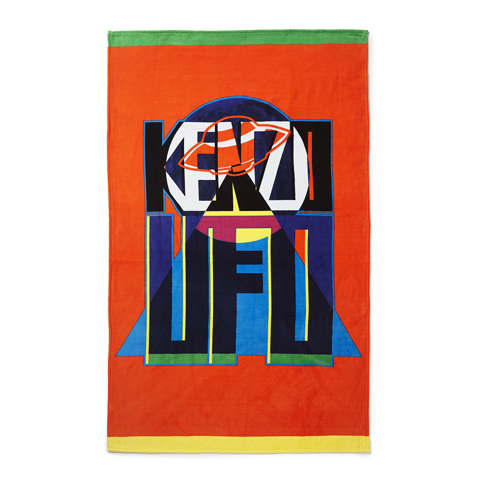 kenzo-ufo-beach-towel-orange