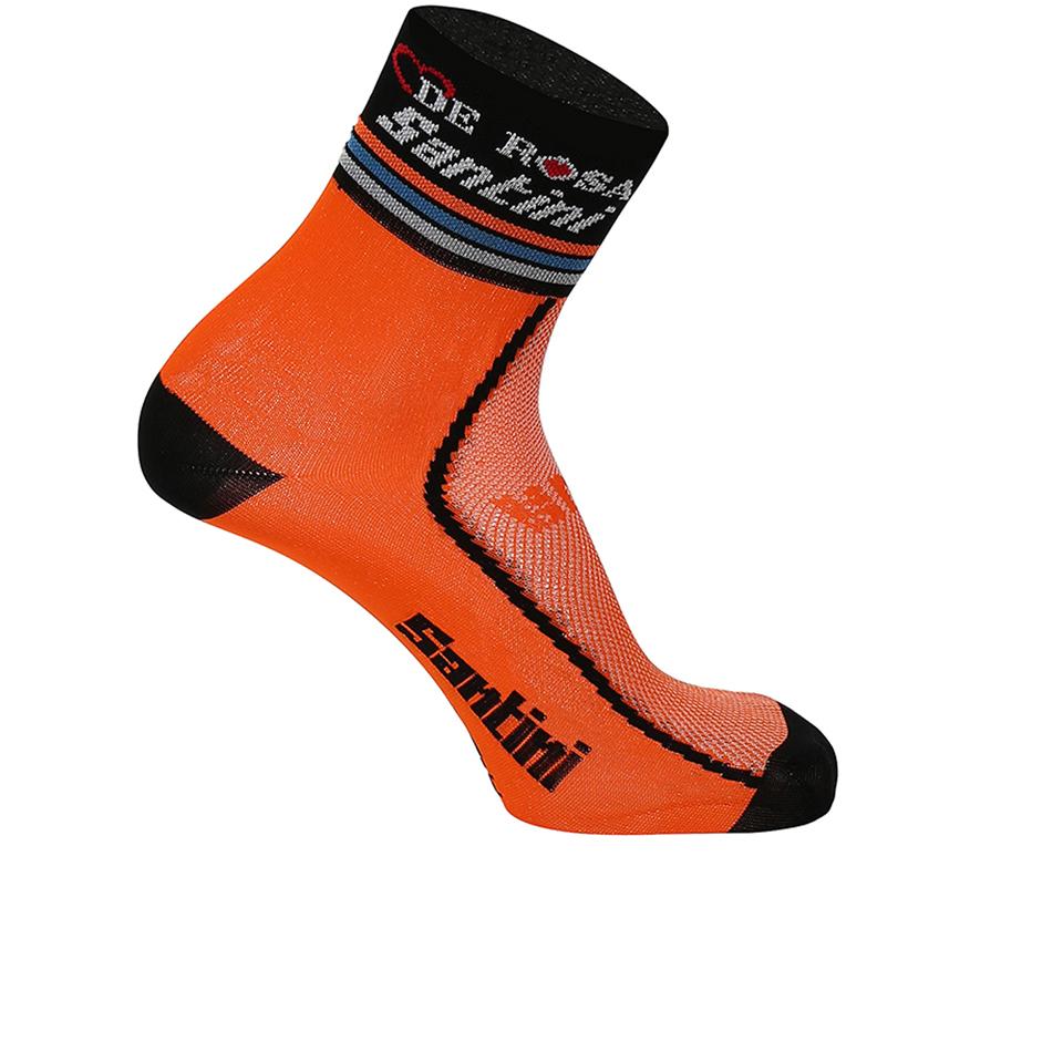 santini-de-rosa-16-coolmax-socks-black-xs-s