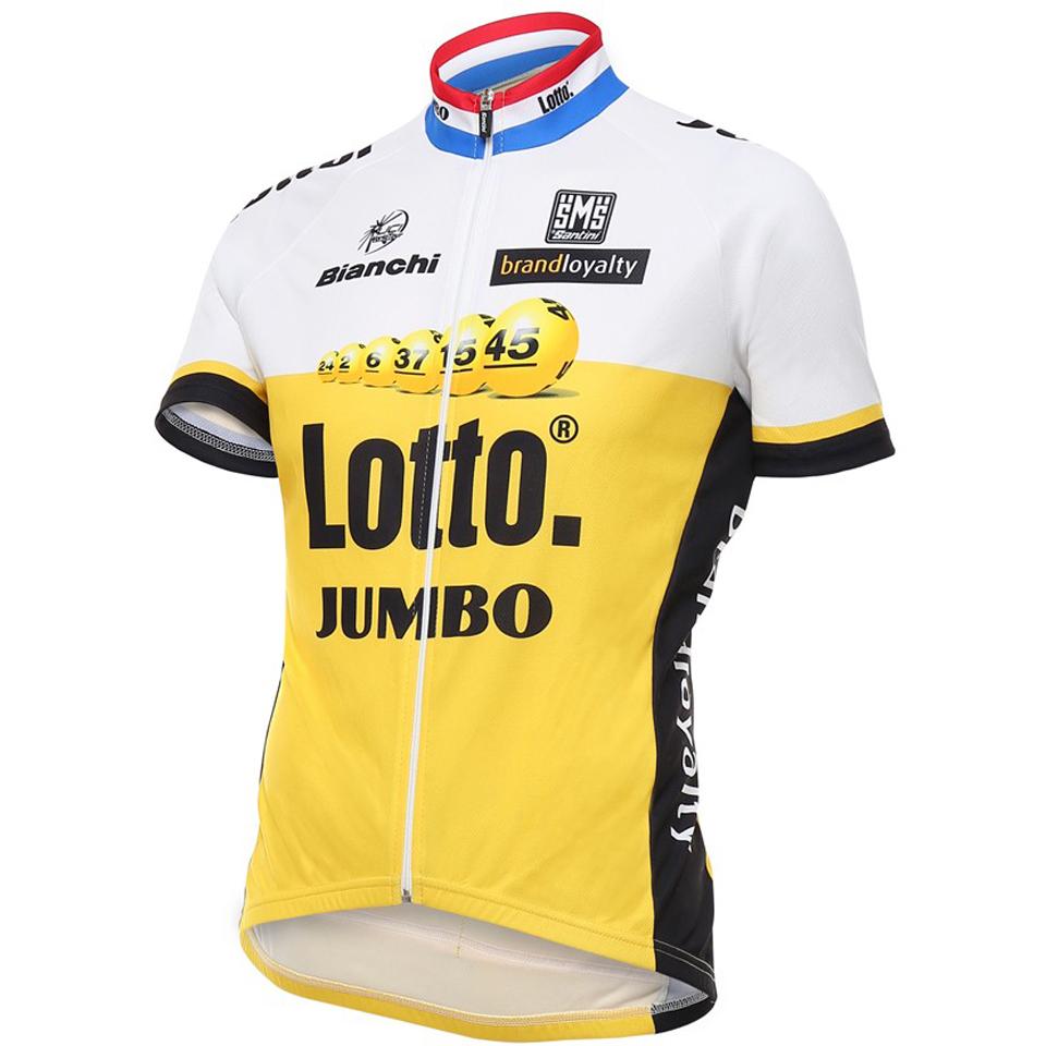 santini-lotto-jumbo-16-short-sleeve-jersey-black-m