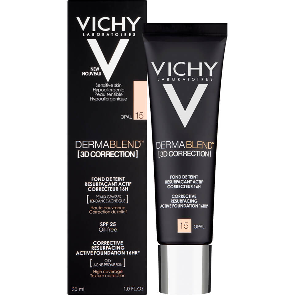 Vichy Dermablend 3d Correction Foundation 30ml Free Delivery