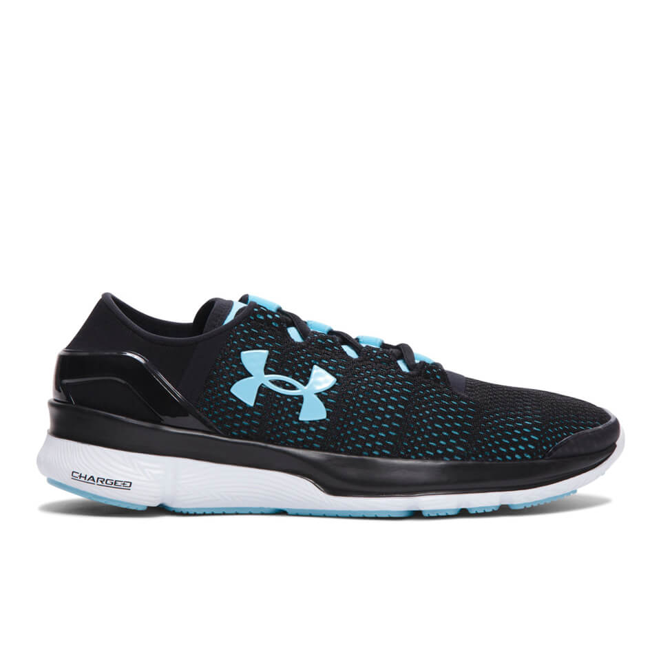 Under Armour Women's SpeedForm Turbulence Running Shoes - Black/White - UK 5 - Black/White