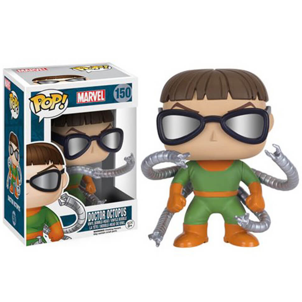 Spider Man Doctor Octopus Pop Vinyl Figure Pop In A Box Us