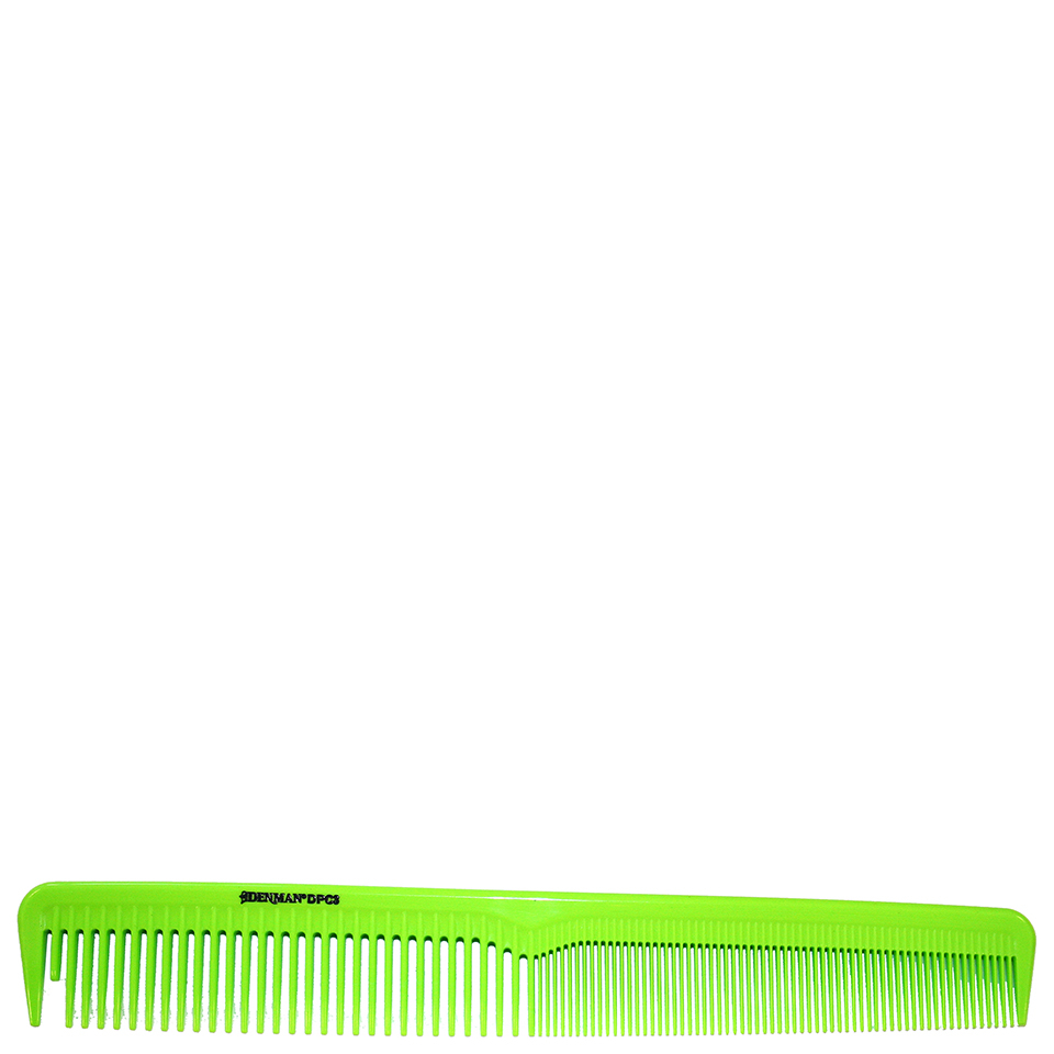 denman-precision-cutting-comb-lime-green