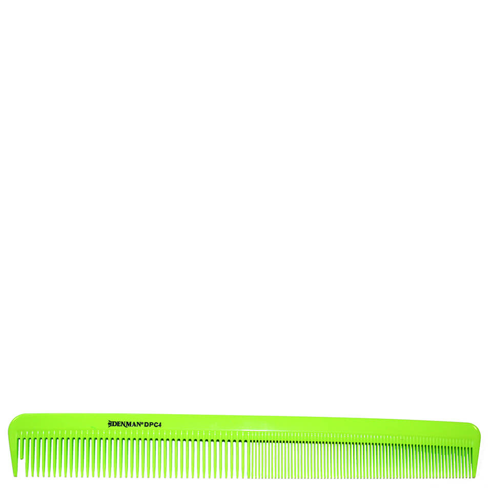denman-precision-military-comb-lime-green