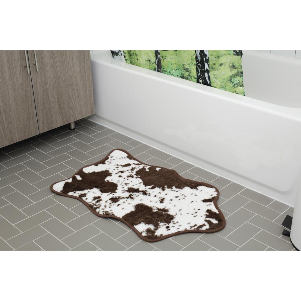 cowhide-bath-rug-brown