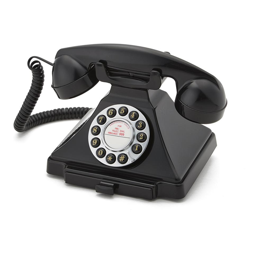gpo-retro-1929s-classic-carrington-push-button-telephone-black