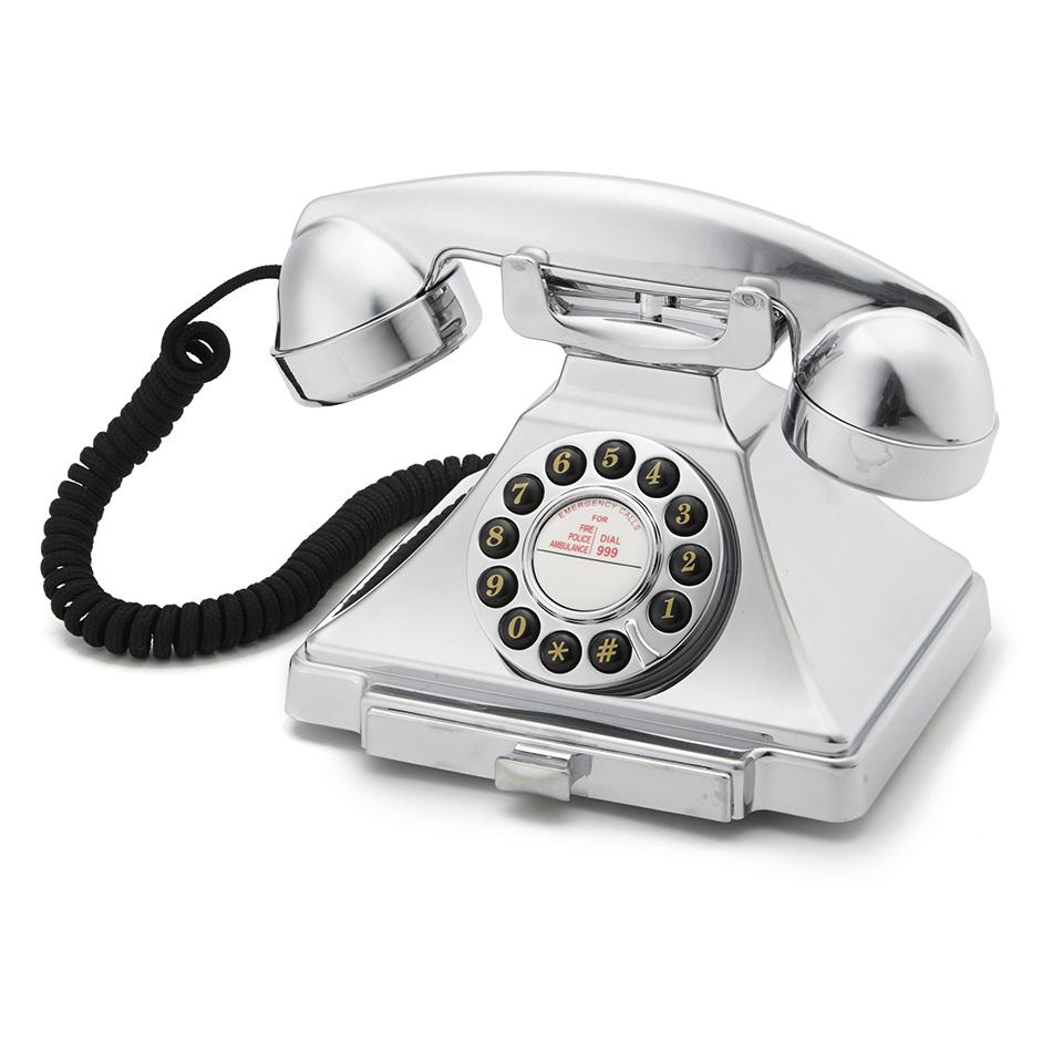 gpo-retro-1929s-classic-carrington-push-button-telephone-chrome
