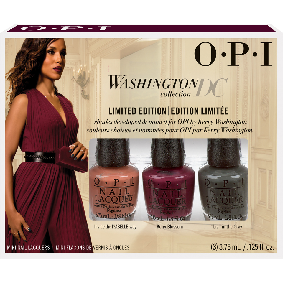 Köpa billiga OPI Washington Collection Nail Varnish Mini Pack - 3 Pack online