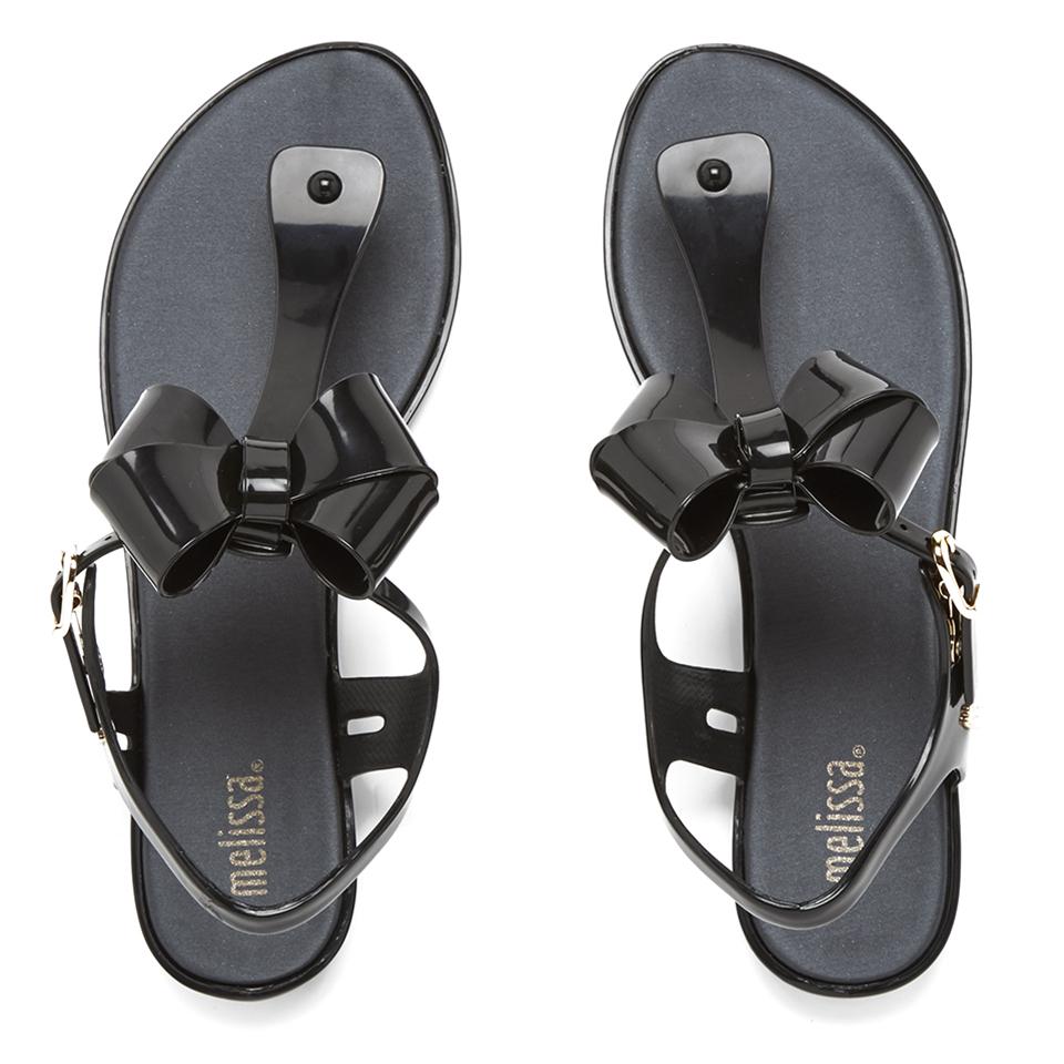 melissa-women-solar-bow-sandals-black-3